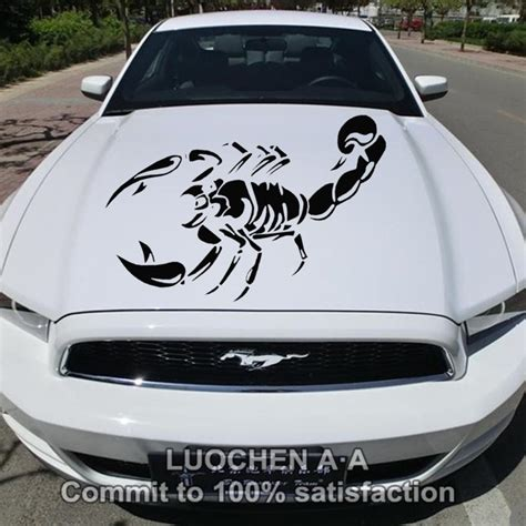 Decals Auto Tuning by Car Stickers Large Scorpion Animal Creative Decals Auto