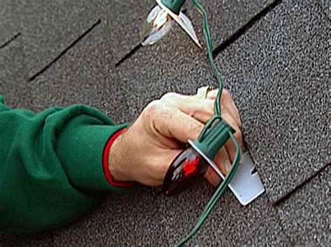 how to hang lights on shingles how to decorate with outdoor lights how tos diy