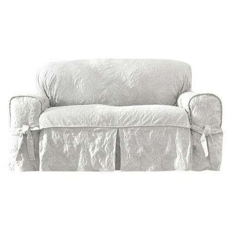 Damask Sofa Slipcover by Sure Fit Matelasse Damask Slipcovers Ebay