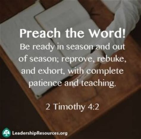Out For The Season 2 by Bible Verses Quotes About Preaching Pastors And