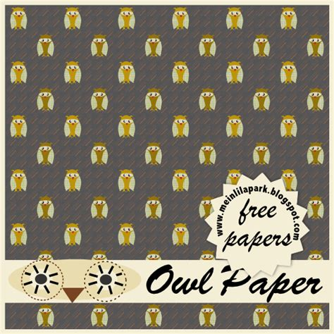 printable paper owl free digital owl scrapbooking and fun papers