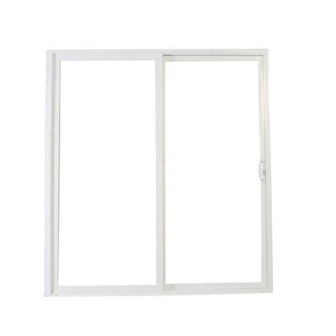 american craftsman patio doors american craftsman 72 in x 80 in 50 series white vinyl left sliding patio door 60557llsa