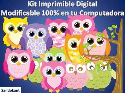 imagenes infantiles lechuzas kit imprimible candy bar lechuzas y buhos cumplea 241 os