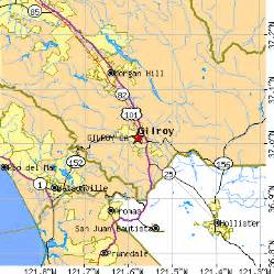 gilroy california ca population data races housing