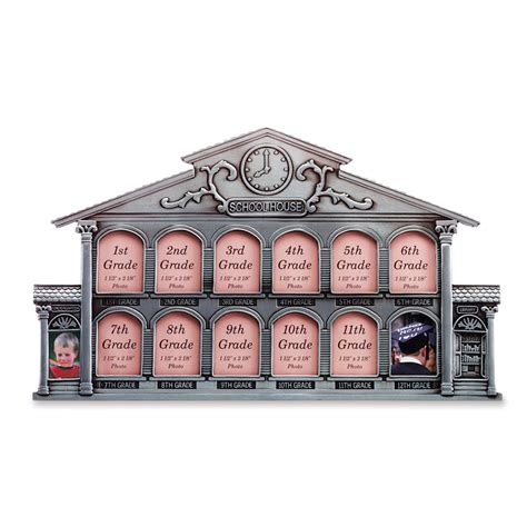 Wholesale Pewter School House 13 Photo Frame Buy Wholesale Picture Frames