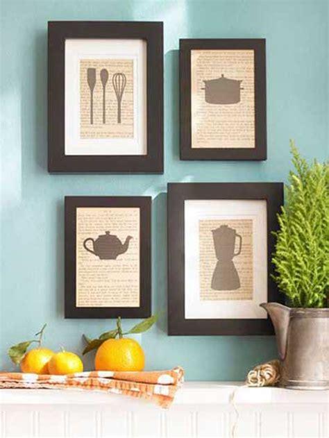 cadre d馗o cuisine 100 fotos e ideas para decorar las paredes con cuadros