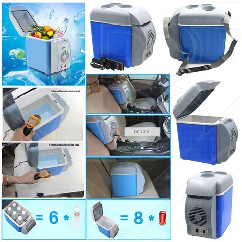 Portable Electronic Refrigerator Cool Warm Function 7 5l Kulkas Mini dual function portable electronic cooling and warming car and home refrigerator 7 5l