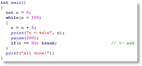 coding loop code that repeats learn parallax