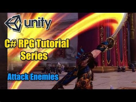 unity3d rpg tutorial unity rpg tutorial attacking a selected enemy c