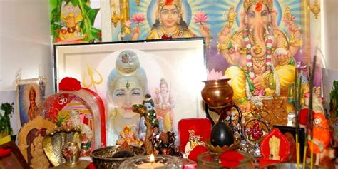 How To Decorate A Temple At Home by