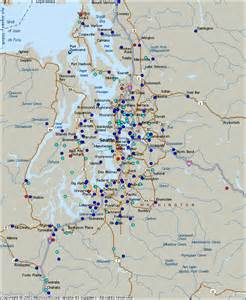 Seattle Metro Map by Seattle Metro Map Map Travel Holiday Vacations