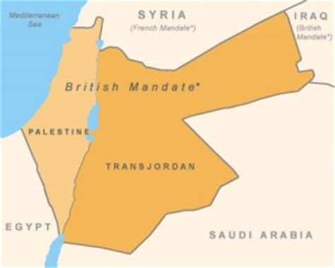 middle east map before 1948 israel palestine and the arab