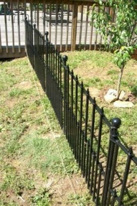 how to keep in yard without fence how to install empire fencing from lowes dengarden