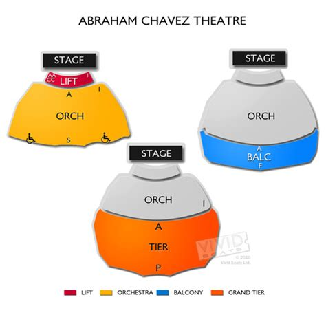 abraham chavez theatre seating chart abraham chavez theatre seating chart seats
