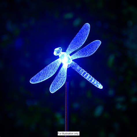 B M Solar Dragonfly Lights