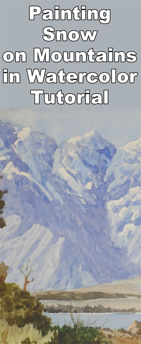 watercolor tutorial mountains 25 best ideas about watercolor landscape tutorial on