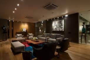 in livingroom determining track lighting for living room furniture