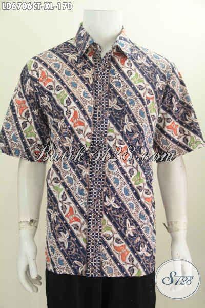 Baju Kodok Buat Cowok baju batik keren untuk pria dewasa kemeja batik modis lengan pendek cap tulis motif terkini
