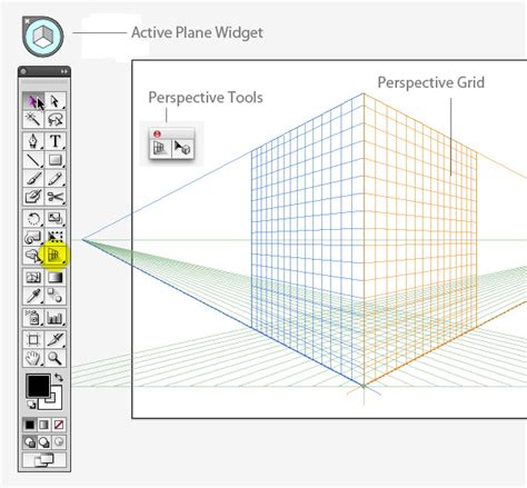 tutorial illustrator perspective tool create a shimmering cityscape in perspective using