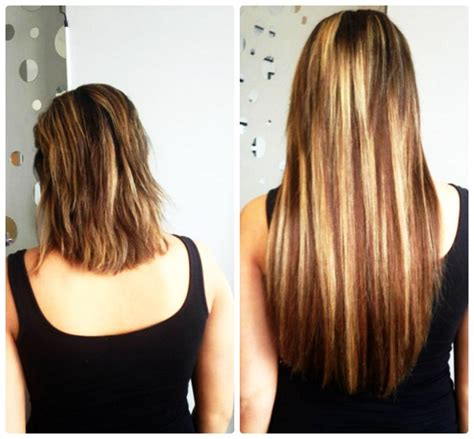 hair extensions before and after picture gallery chicago il