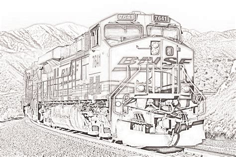 freight train coloring pages splendid ideas locomotive