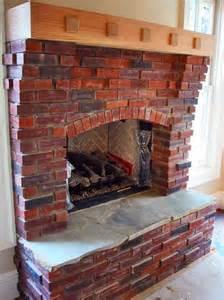 rock brick fireplace interior interior accent ideas using brick fireplace