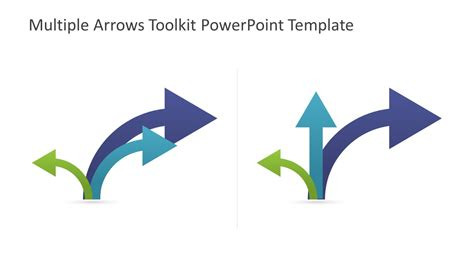 arrow powerpoint template arrows toolkit powerpoint template slidemodel