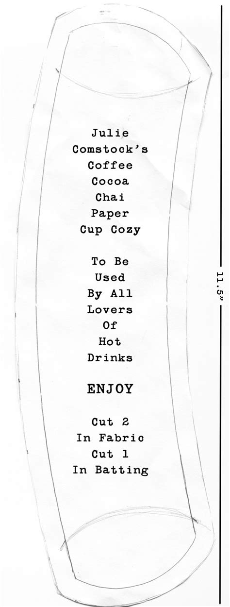 How To Make Paper Look Using Coffee - coffee cup cozies free pattern cosmo cricket