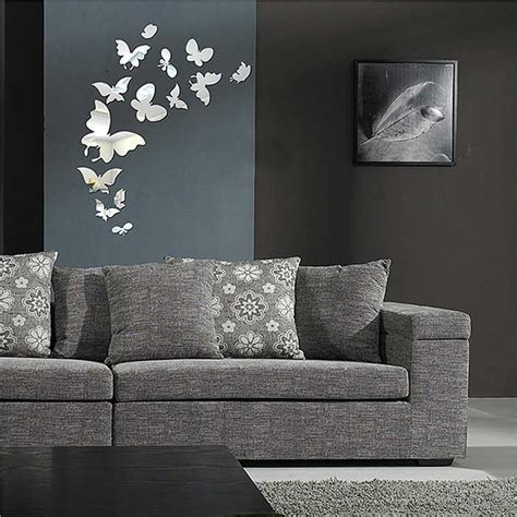 Butterfly Wall Mural 25 butterfly modern 237 zrcadlov 225 st na dom 225 c 237 obtisk