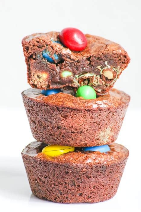 M M Peanut By Food And Such gooey peanut m m brownie cups desserts required
