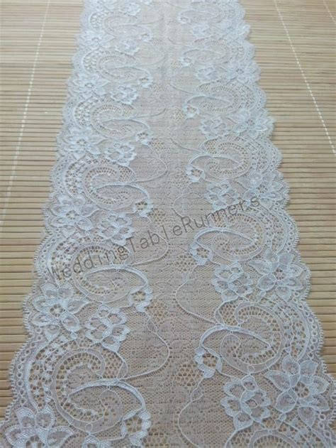 ivory lace table runner ivory wedding table runner lace runner wedding runners