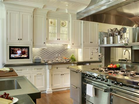 kitchen backsplash design ideas stainless steel backsplash tiles pictures ideas from hgtv kitchen ideas design with