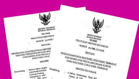 Hosing A B Bahan Nya Bagus Dan Kualitas Oke 1 mbah e keuangan peraturan penggunaan dbhcht dan sanksi