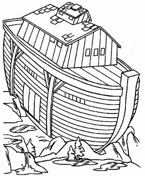coloring book pages of noah s ark noah and the ark coloring pages coloring home