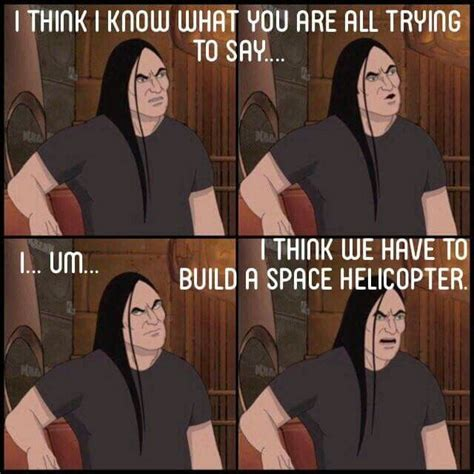 Metalocalypse Meme - 385 best images about metalocalypse on pinterest