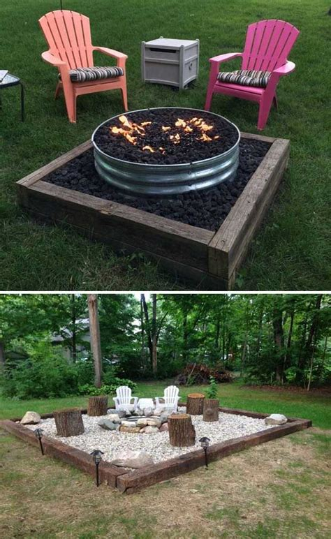 backyard landscaping ideas with fire pit best 25 backyard fire pits ideas on pinterest outdoor