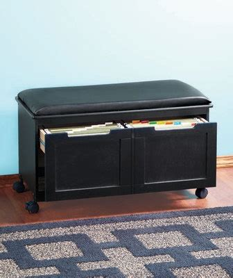 file cabinet bench walnut black cushion file cabinet bench office entryway seat filing o