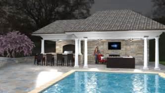 pool cabana ideas pool cabana outdoor room pools pinterest