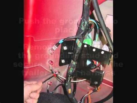 installing trailer wiring kit   range rover sport youtube
