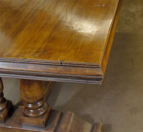 farmhouse refectory table rustic tables kitchen