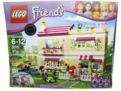 Lego Doll D127 1 6 Set Go 2012 lego friends s house 3315 new sealed in box