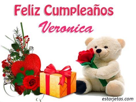 imagenes feliz cumpleaños veronica fel 237 z cumplea 241 os veronica im 225 genes de estarjetas com