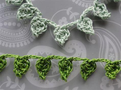 free crochet pattern leaf garland 20 free crochet leaf patterns for every season