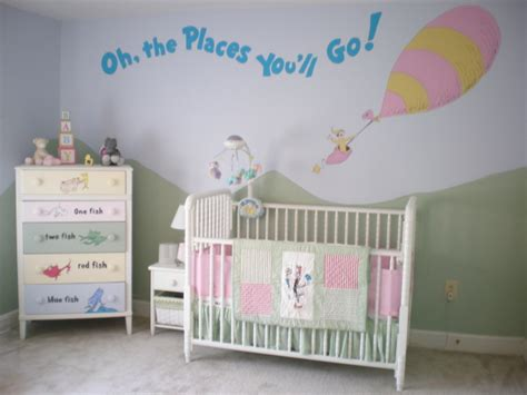 cute nursery ideas in celebration of dr seuss diary of a mama wannabe