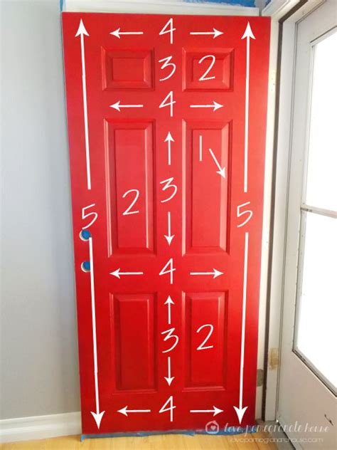 how to paint a front door how to paint your front door love pomegranate house