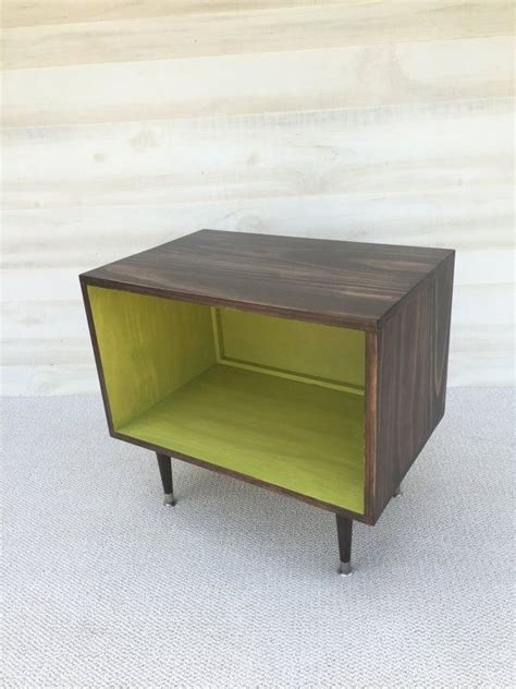 wee console the wee record player stand mid century modern by