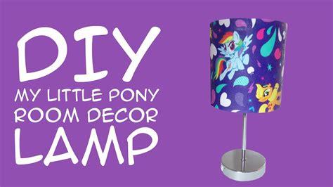 diy   pony room decor rainbow dash lamp  mlp