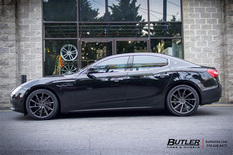 maserati vossen maserati ghibli with 20in vossen cvt wheels exclusively