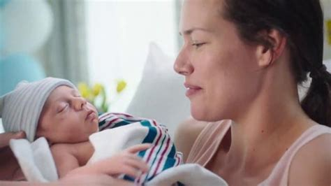 luvs commercial pacifier actress pers swaddlers tv commercial love at first touch
