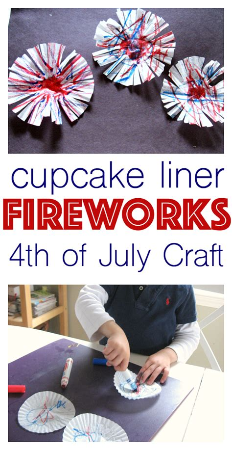 4th of july kid crafts fireworks craft 4th of july craft no time for flash cards